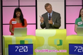 Almarie in the Credit Karma commercial